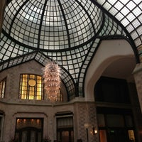 Photo taken at Four Seasons Hotel Gresham Palace Budapest by Tim S. on 3/23/2013