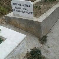 Photo taken at Kıbrıs Köyü Mezarlığı by Ömür Can H. on 9/23/2015
