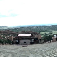 Photo taken at Red Rocks Interactive Hall Of Fame by Stu K. on 8/24/2017