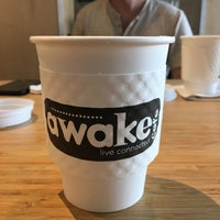 Photo taken at Awake Cafe by Stu K. on 5/28/2016