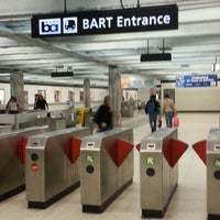 Photo taken at Powell St. BART Station by StressdBut B. on 10/10/2012