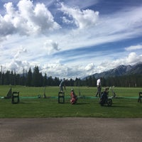Photo taken at Canmore Golf & Curling Club by Özgür H. on 7/14/2016