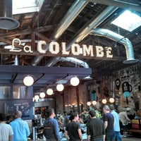 Photo taken at La Colombe Torrefaction by Tim B. on 10/4/2014
