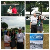 Photo taken at Merion Golf Club by Sarika on 6/16/2013