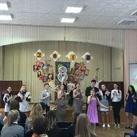 Photo taken at Гимназия № 75 by Екатерина Ш. on 3/7/2018