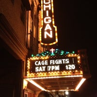 Photo taken at The Michigan Theatre by Crystal H. on 11/10/2012