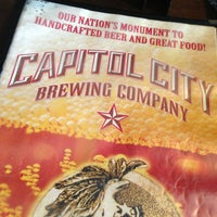 Photo taken at Capitol City Brewing Company by Aelitis 3. on 2/1/2013