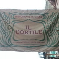 Photo taken at Il Cortile by wayne b. on 5/30/2013