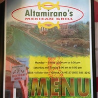 Photo taken at Altamirano's Mexican Grill by Grant M. on 2/24/2013
