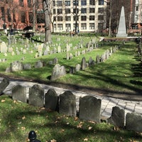 Photo taken at Paul Revere's Tomb by leigh ann c. on 3/17/2016