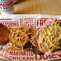 Photo taken at Smashburger by Rob M. on 1/4/2014
