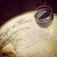 Photo taken at Café de Flore by Carol L. on 7/2/2013