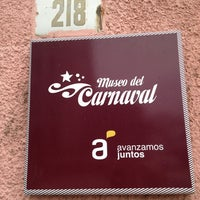 Photo taken at Museo del Carnaval by Erika F. on 8/2/2013