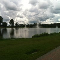 Photo taken at Lakeside, ABAC by Emily C. on 10/8/2012