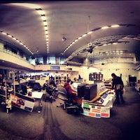 Photo taken at MIT Media Lab — Wiesner Building (Building E15) by Desiree K. on 11/16/2012