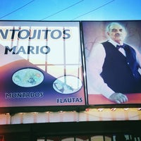 Photo taken at Antojitos Mario by Alan P. on 12/27/2012
