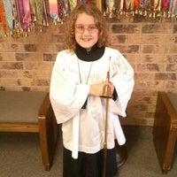 Photo taken at Arapaho United Methodist Church by Jennifer A. on 10/6/2013