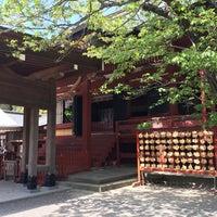Photo taken at 鶴岡八幡宮 若宮 by Mizuho on 4/14/2014