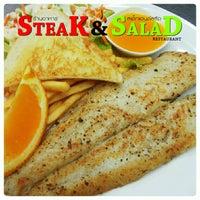 Photo taken at Steak&Salad Restaurant by Steak&Salad R. on 8/10/2013