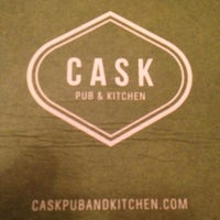 Photo taken at CASK Pub And Kitchen by Beerviking on 12/20/2012