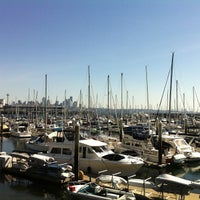 Photo taken at Elliott Bay Marina by Matthew L. on 3/30/2013
