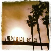 Photo taken at Imperial Beach Pier by Matthew L. on 6/4/2013