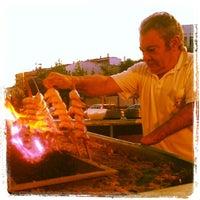 Photo taken at Terraza de Bar Aurelio - Mérida by Arild H. on 10/16/2012