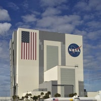 Photo taken at Kennedy Space Center Vehicle Assembly Tour by mike f. on 2/21/2015