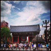 Photo taken at Kaminarimon Gate by hidebooo on 7/28/2013