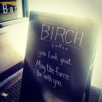 Снимок сделан в Birch Coffee пользователем Kathryn T. 4/14/2013
