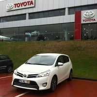 Photo taken at Caetano Auto (Setúbal) - Toyota by Andre F. on 2/7/2013