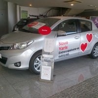 Photo taken at Caetano Auto (Setúbal) - Toyota by Andre F. on 2/15/2013