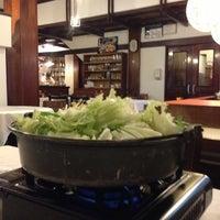 Photo taken at Kamiya Sushi & Sukiyaki by Jair Araújo on 8/1/2013