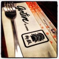 Photo taken at Goten of Japan by William B. on 11/17/2012