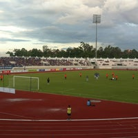 Photo taken at 700th Anniversary Chiangmai Sports Complex by Bertbike on 7/13/2013