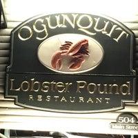 8/4/2016에 Sharon K.님이 Ogunquit Lobster Pound Restaurant에서 찍은 사진