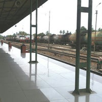 Photo taken at Stasiun Rantauprapat by Erna A. on 3/30/2015