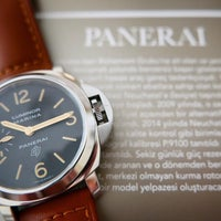 Photo taken at Panerai İstanbul Boutique by Volkan Y. on 4/19/2016