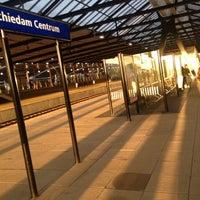 Photo taken at Station Schiedam Centrum by Joke V. on 10/15/2012