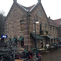 Photo taken at Station Overveen by Joke V. on 1/21/2014