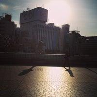 Photo taken at 上野駅 Smoking Area by Yujiro N. on 2/2/2013