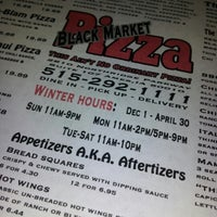Photo taken at Black Market Pizza by Andrea T. on 1/10/2013