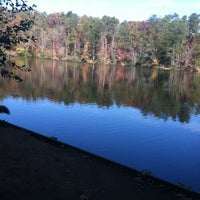 Photo taken at Paris Mountain State Park by Debbie G. on 11/3/2012