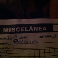 Photo taken at Miscelânea Cultural by Polonês E. on 3/15/2014