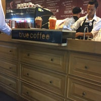 Photo taken at TrueCoffee by Pattraporn C. on 7/26/2017
