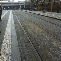 Photo taken at Hlavní nádraží (tram) by Sandra K. on 12/18/2012