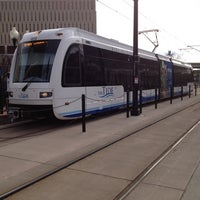 Photo taken at The Tide: Civic Plaza Station by Edson P. on 11/27/2012