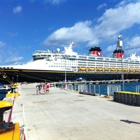 Photo taken at Disney Wonder by Ted T. on 3/31/2013
