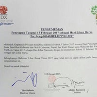 Photo taken at Indonesia Stock Exchange (IDX) by INTANING D. on 2/10/2017