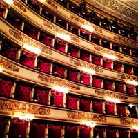 Photo taken at Teatro alla Scala by Lidia S. on 5/5/2013